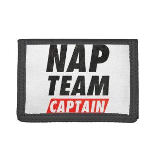Nap Team Captain Trifold Wallet