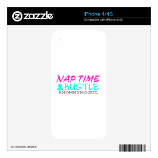 Nap Time and Hustle #MommyMogul iPhone 4S Decals