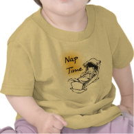 Nap Time Cradle Kitty Tee Shirts