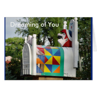 """NAP TIME, """"Dreaming of You"""" card"""