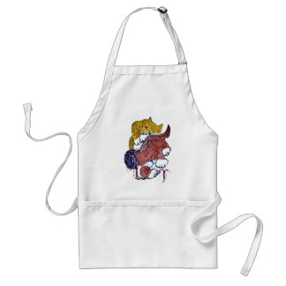 Nap Time for Two Kittens Adult Apron