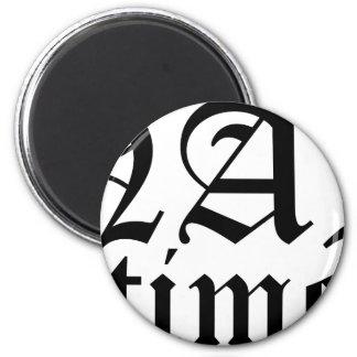 Nap Time Magnet