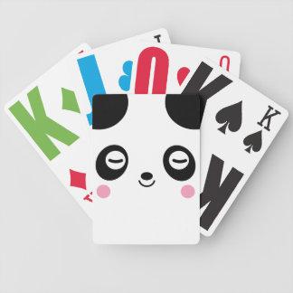 Nap Time Panda Playing Cards