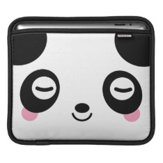Nap Time Panda Sleeve For Ipads at Zazzle