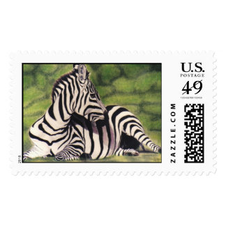 """""""Nap Time"""" Postage Stamps"""