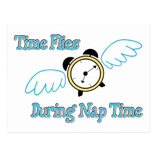 Nap Time Post Card