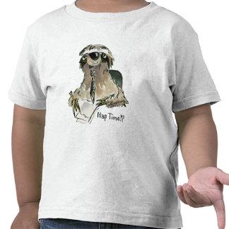 Nap Time Sloth Toddler T shirt