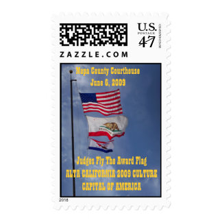 Napa County 2009 Culture Capital of America Postage
