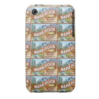 Napa Rock Mineral Water iPhone 3 Cases