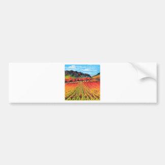Napa Valley by Lisa Elley Bumper Sticker