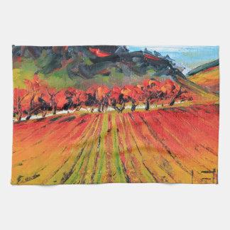Napa Valley by Lisa Elley Hand Towels