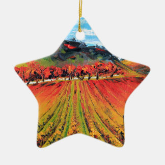 Napa Valley by Lisa Elley Christmas Tree Ornament