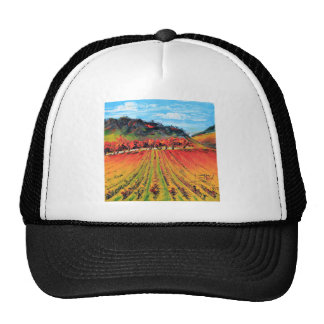 Napa Valley by Lisa Elley Trucker Hat