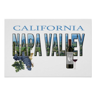 Napa Valley, CA Poster