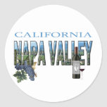 Napa Valley, CA Stickers