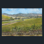 """Napa Valley California Placemat<br><div class=""""desc"""">Napa Valley California</div>"""