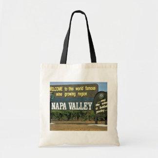 Napa Valley, California, USA Budget Tote Bag