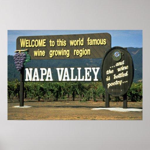 Napa Valley, California, USA Poster