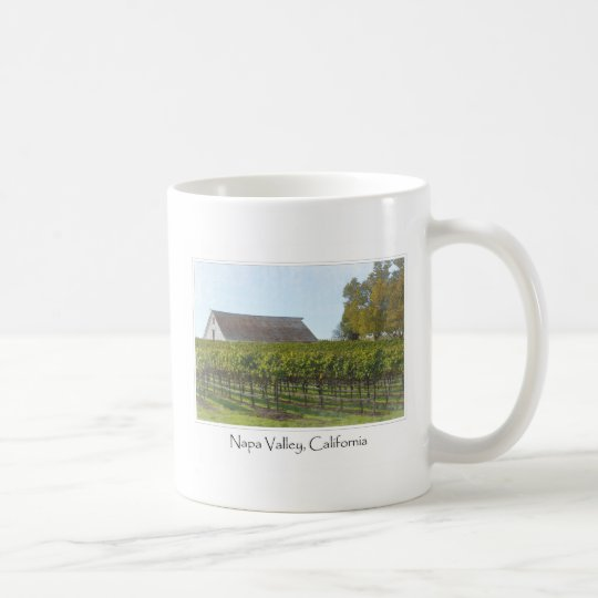 Napa Valley California Vineyard and Barn Coffee Mug