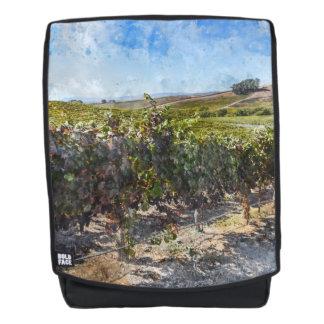 Napa Valley California Vineyard Backpack