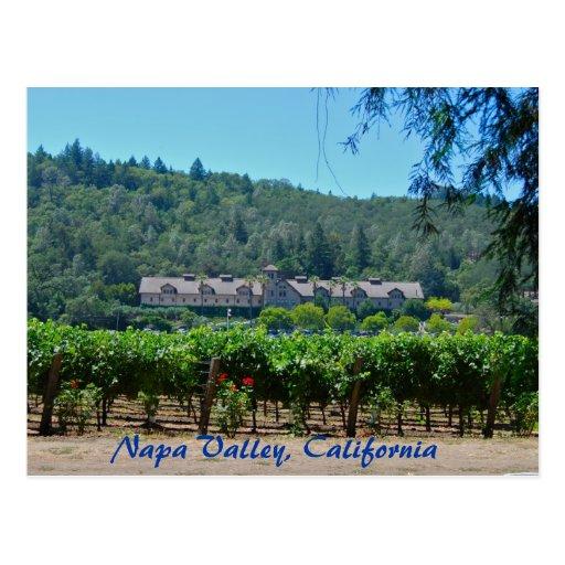 Napa Valley California Vineyard Postcards