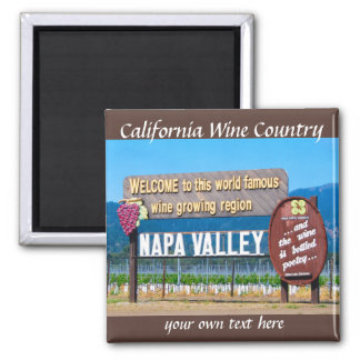 Napa Valley, California Wine Country Magnets