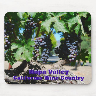 Napa Valley California Wine Country Mouse Pad