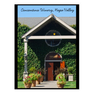 Napa Valley California Winery Postcard