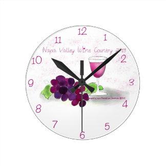 Napa Valley Clock