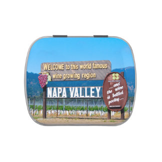 Napa Valley Frascos De Dulces