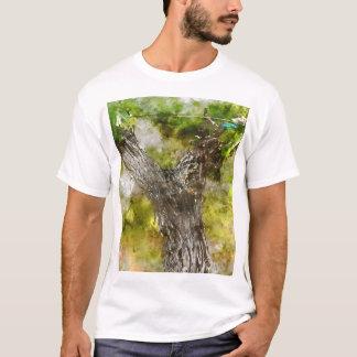 Napa Valley Grape Vine closeup in Spring T-Shirt