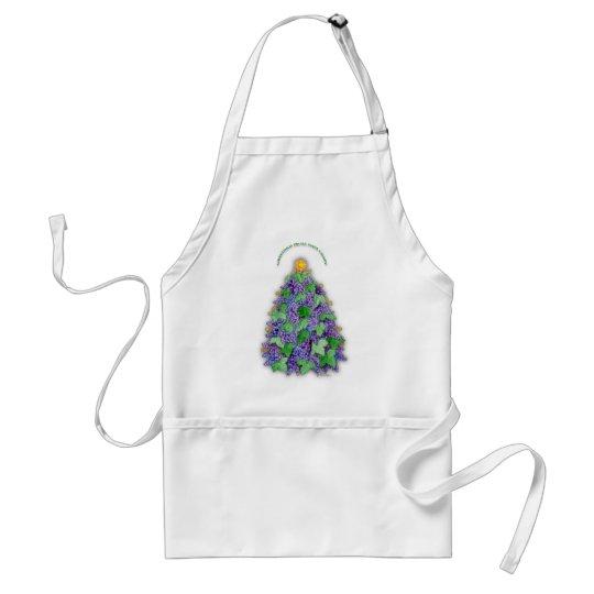 Napa Valley Grapes Christmas Tree Adult Apron