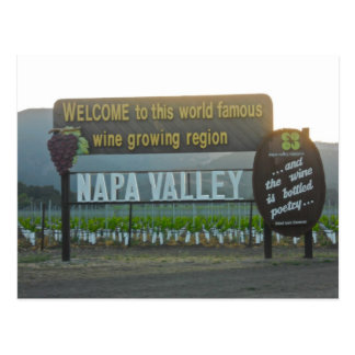 Napa Valley, país vinícola de California Postales