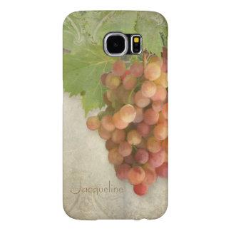 Napa Valley Pinot Grigio Wine Grapes Vineyard Art Samsung Galaxy S6 Cases