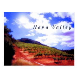 Napa Valley Postcard