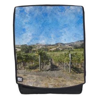 Napa Valley Vineyard Backpack