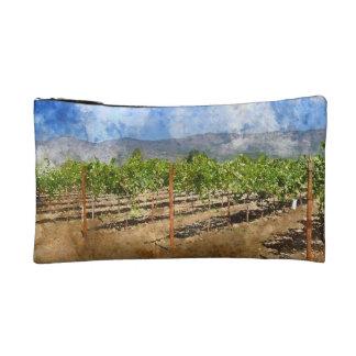 Napa Valley Vineyard Cosmetic Bag