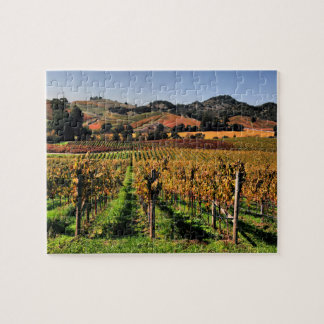 Napa Valley Vineyard Jigsaw Puzzle