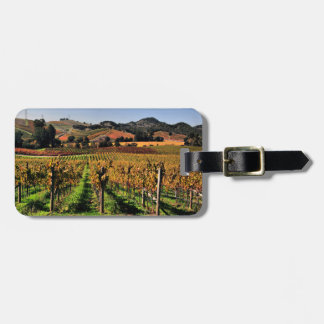 Napa Valley Vineyard Luggage Tag