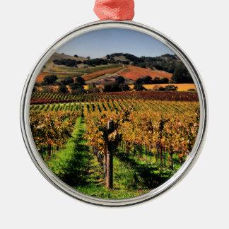 Napa Valley Vineyard Ornaments