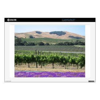 Napa Valley Vineyard Skin For Laptop