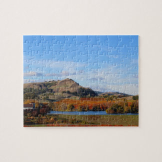 Napa Valley Wine Country in the Fall Jigsaw Puzzle