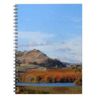 Napa Valley Wine Country in the Fall Notebook