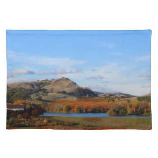 Napa Valley Wine Country in the Fall Placemat