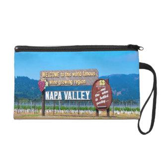 Napa Valley Wine Country Wristlet Purse