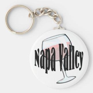 Napa Valley Wine Keychain
