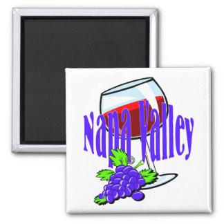 Napa Valley Wine Refrigerator Magnets