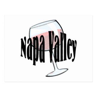 Napa Valley Wine Post Card