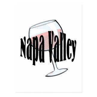Napa Valley Wine Postcard