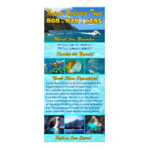 Napali Seabreeze Tours Rack Card